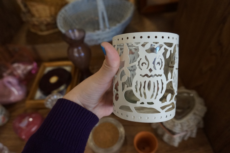 Owl Candle holder pretty