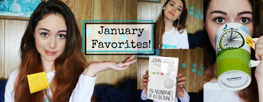 January favorites 1