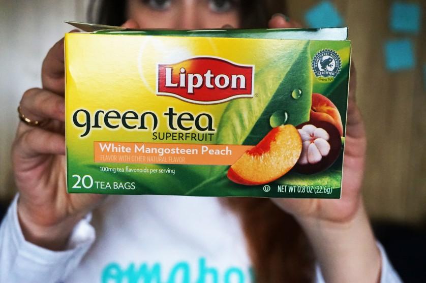 Lipton green tea peach