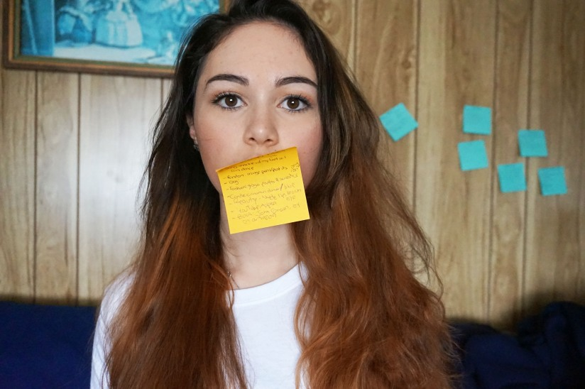 Post it mouth