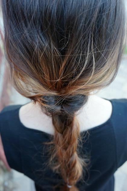 Flip braid