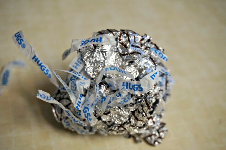 Hug wrapper ball