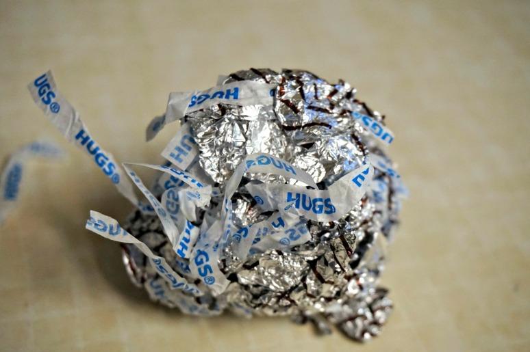 Hug wrapper ball