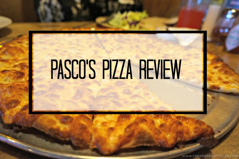 Pasco's Pizza Review