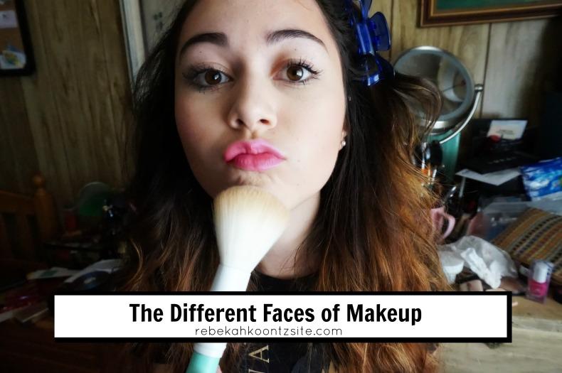 The Different Faces Of Makeup Rebekah