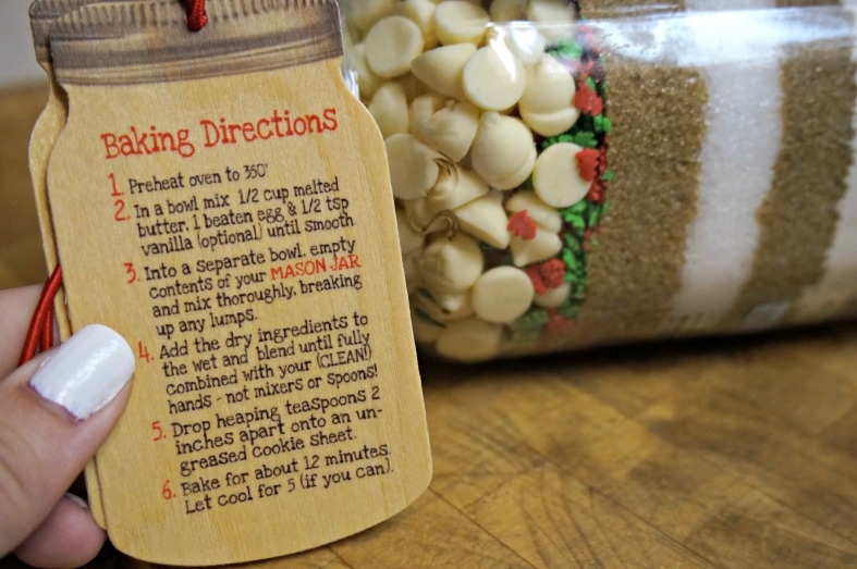 Baking directions