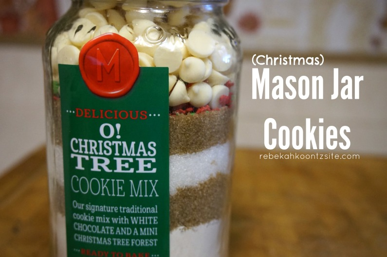Christmas Mason Jar Cookies