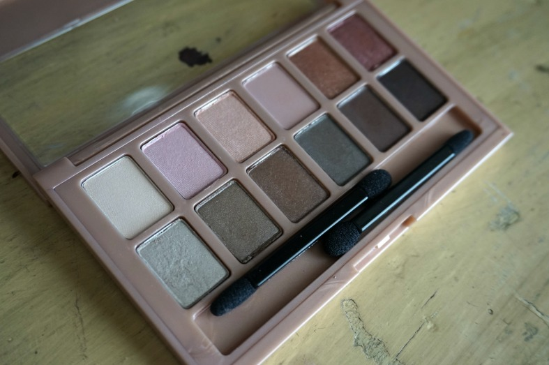 Maybelline the blushed nudes pallete review open