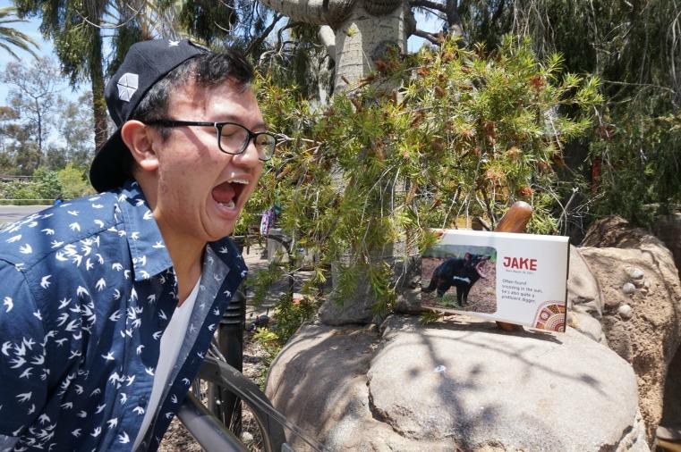A Jake creature San Diego Zoo