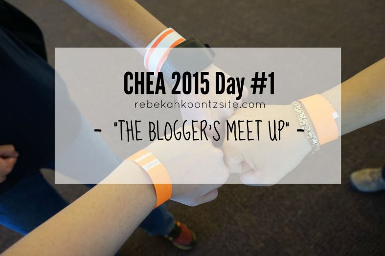 CHEA 2015 Day #1 -- The Bloggers Night Out Meet Up