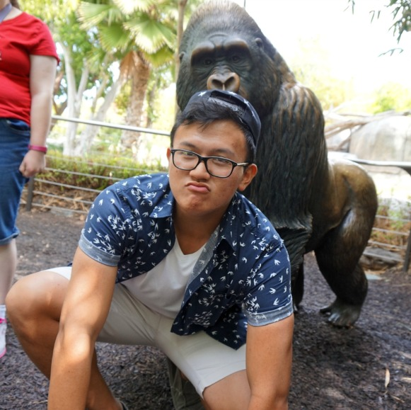 Jake with Ape