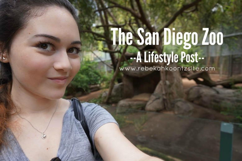 Rebekah Koontz at San Diego zoo A Lifestyle Post