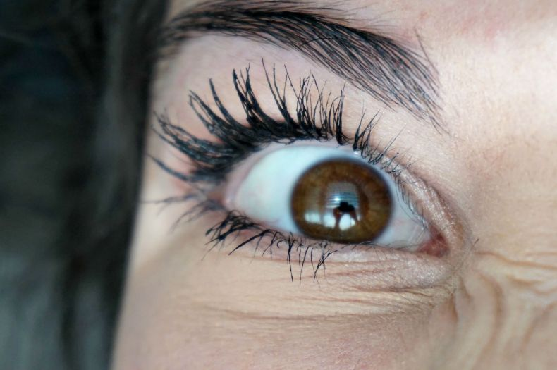 Frustrated mascara clumpy maybelline lash sensational review