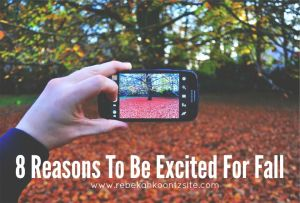 8 Reasons To Be Excited For Fall. Humor. Funny. Lifestyle Blog