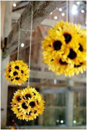 Sunflower decoration