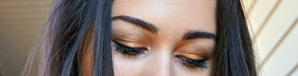 14 Gold-green fall smokey smoky eye