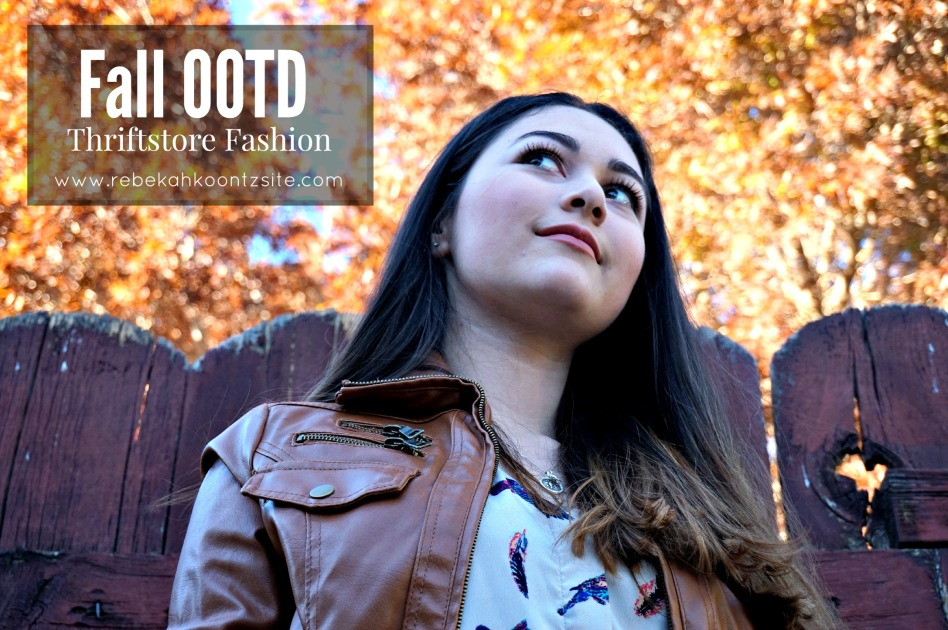 Fall OOTD Thriftstore fashion