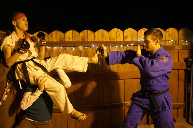 Ninja warrior fight