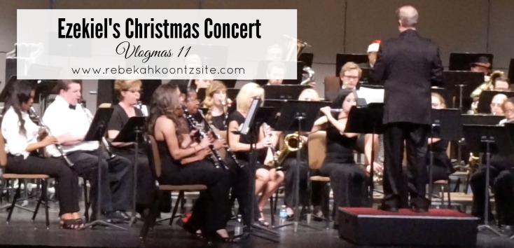 Christmas concert vlogmas 11