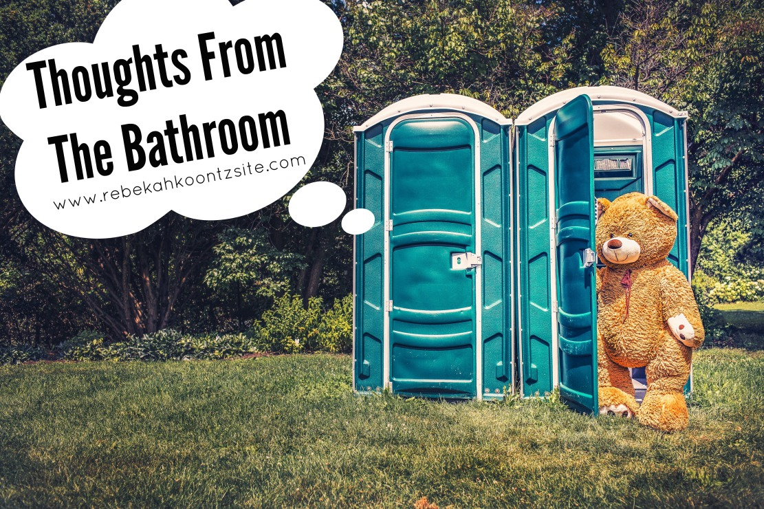 thoughts from the bathroom humor post