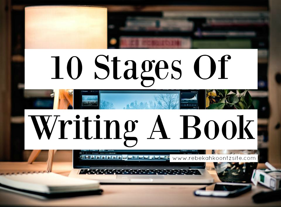 10 stages to writing a book