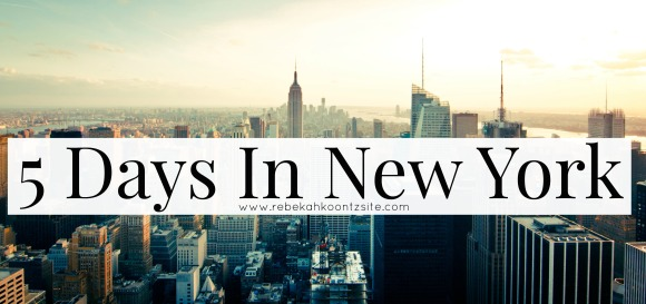 5 Days In New York