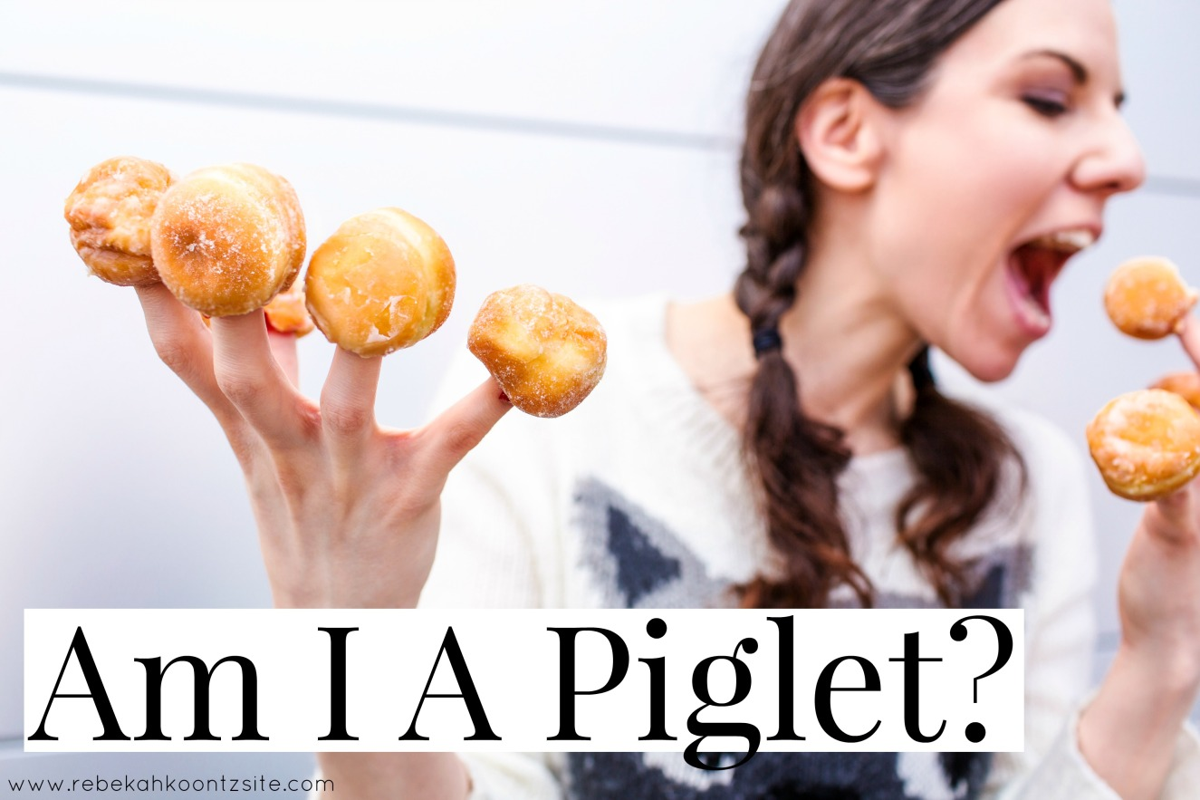 Am I a piglet hungry humor blog life lifestyle