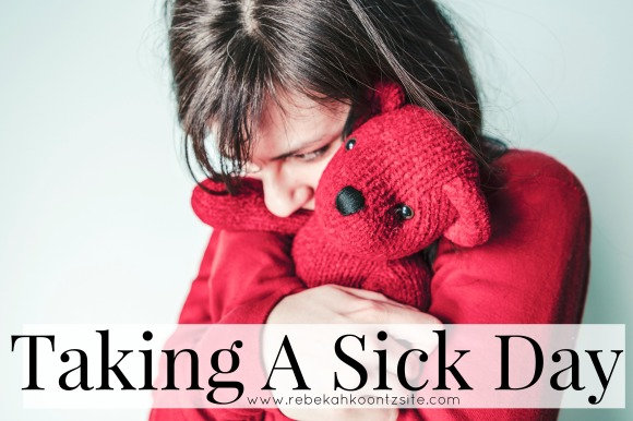 Taking A Sick Day {Feel Free To REBLOG}