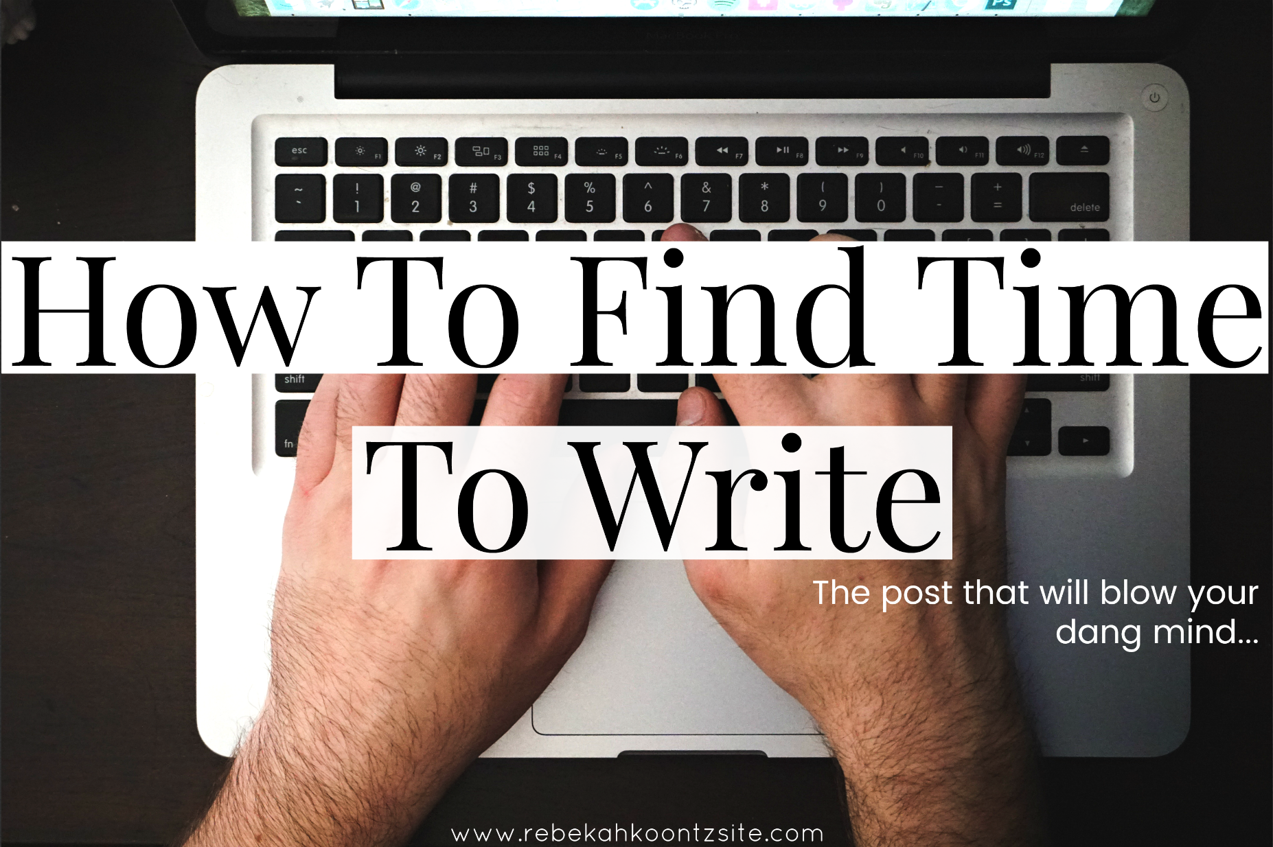 How to find time to write advice tips blogger life
